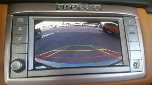 Ferrari California Backup Camera
