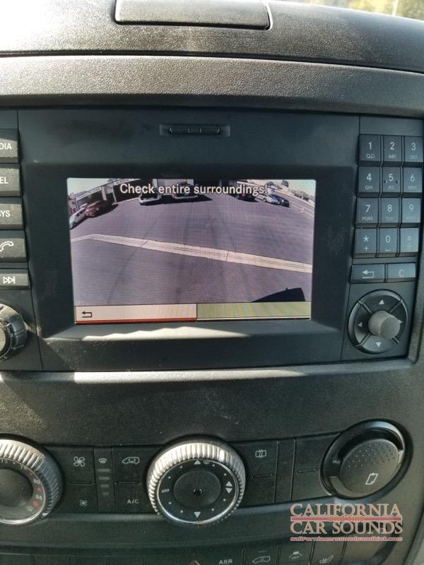 Mercedes benz sprinter camera system 4 california car for Mercedes benz cupertino