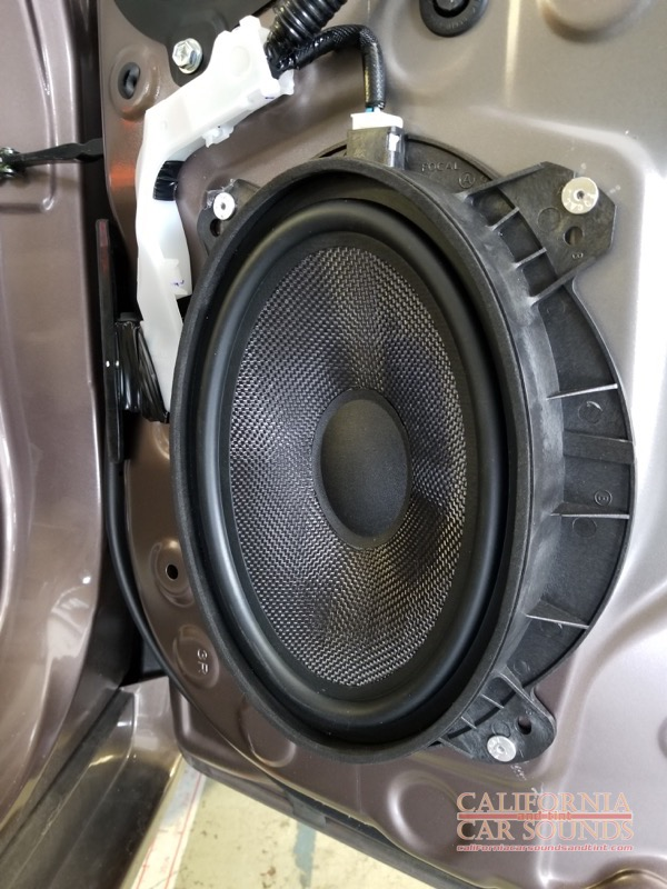 Toyota Prius Audio-2 - California Car Sounds & Tint