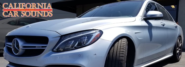 Gilroy Client Upgrades Mercedes-Benz C63 Audio System