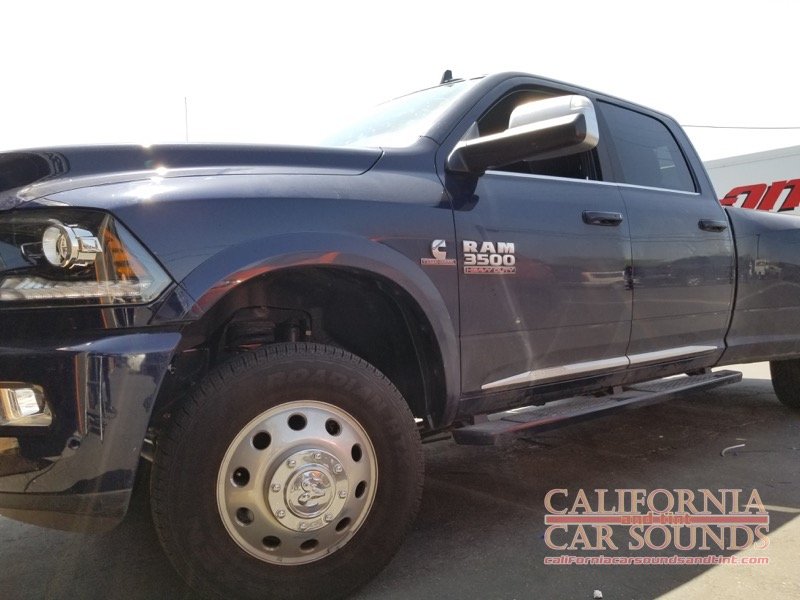 Truck Sound System >> Gilroy Client Gets Ram 3500 Stereo System Upgrades