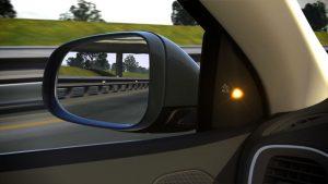 Toyota Blind Spot Detection
