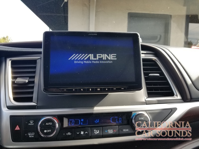 San Jose Toyota >> Toyota Highlander Radio Upgrade For San Jose Client