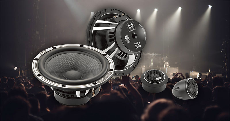 Product Spotlight BLAM Live Series Car Audio Speakers